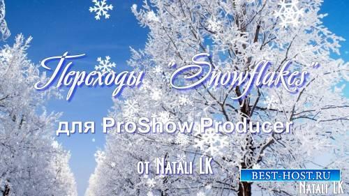 Переходы для ProShow Producer - Снежинки