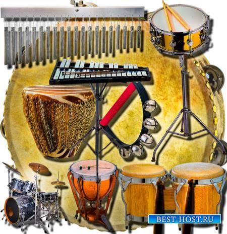 Клипарты для рамок - Музыкальные инструменты