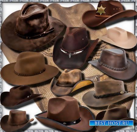 Прозрачные клипарты для фотошопа - Американская шляпа
