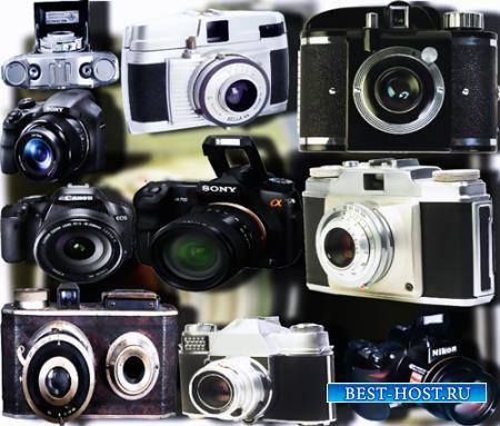 Png картинки - Старые фотоаппараты