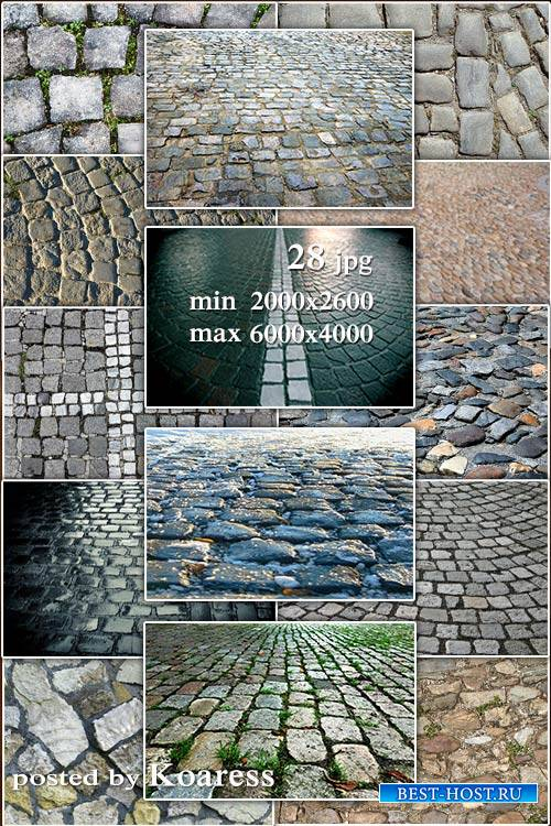 Cobblestones, pavement, stone pavement jpg backgrounds - Брусчатка, мостовая, каменная мостовая ipg фоны