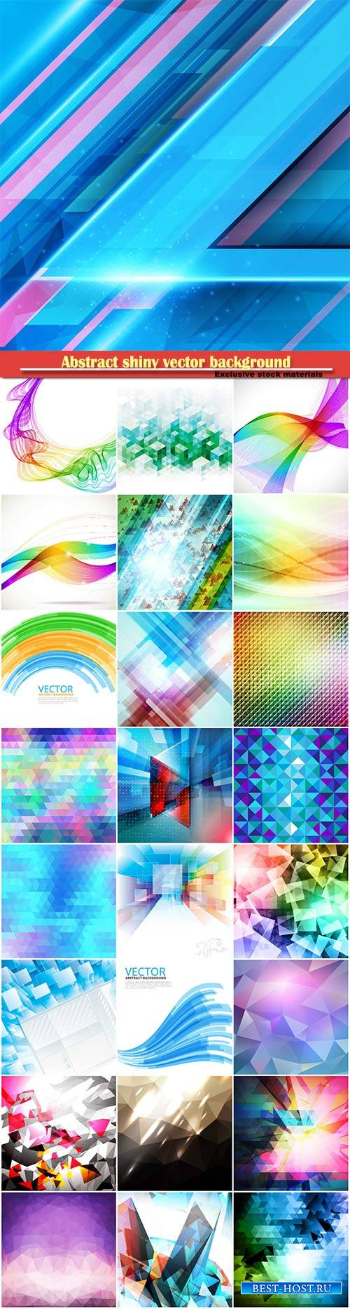 Abstract shiny vector background