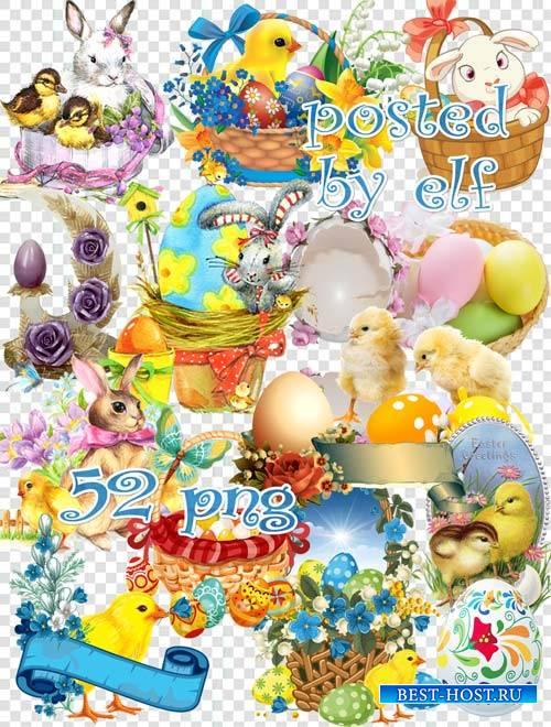 Праздник Воскресенья, светлый день весенний - PNG клипарт