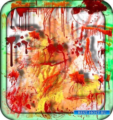 Png клипарты - Алая кровь