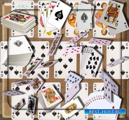 Клипарты без фона - Калода карт