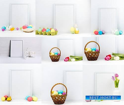 Пасхальные сюжеты - Растровый клипарт / Easter stories - Raster clipart