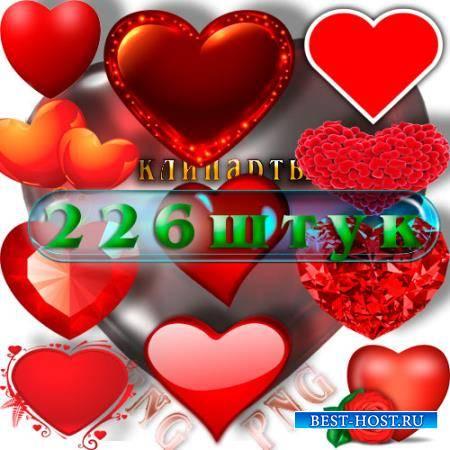Png без фона - Сердца любви
