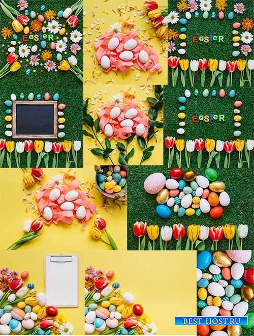 Пасхальные сюжеты - 2 - Растровый клипарт / Easter stories - 2 - Raster cli ...