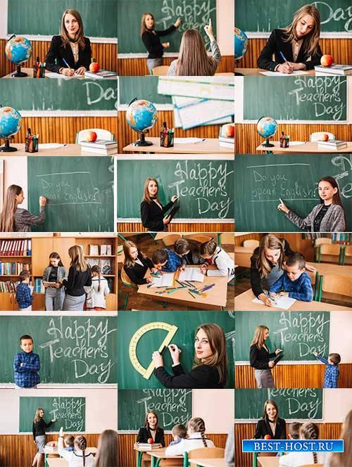Школьные зарисовки - Растровый клипарт / School sketches - Raster clipart
