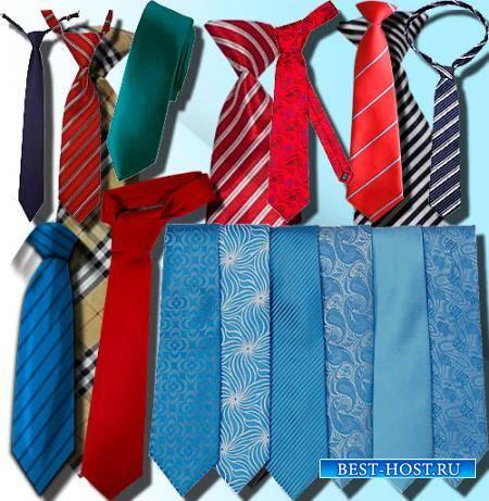 Прозрачные клипарты для фотошопа - Оригинальные галстуки