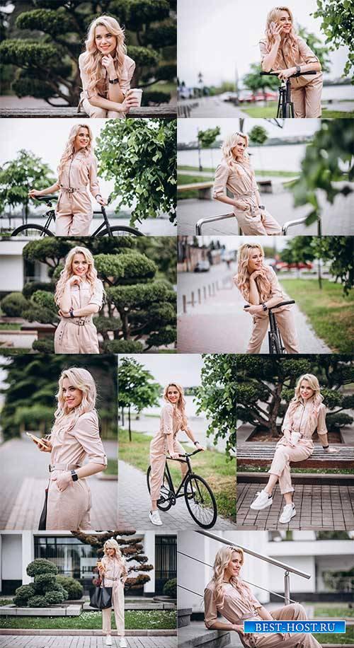 Очаровательная блондинка - Растровый клипарт / Charming Blonde - Raster cli ...