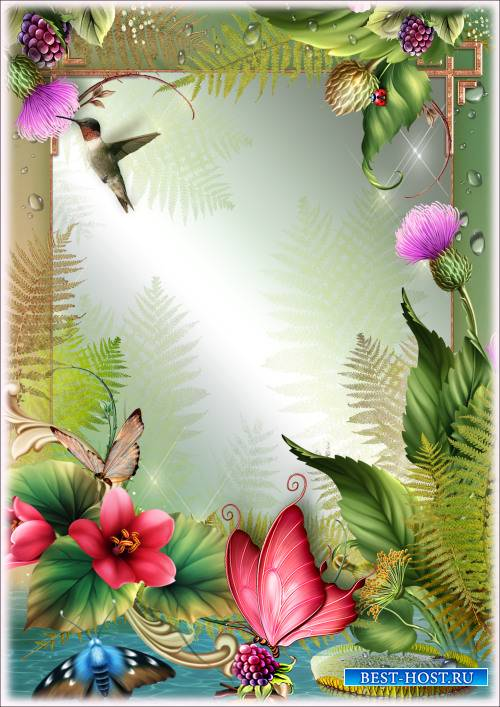 Рамка для Фотошопа - Дикая красота