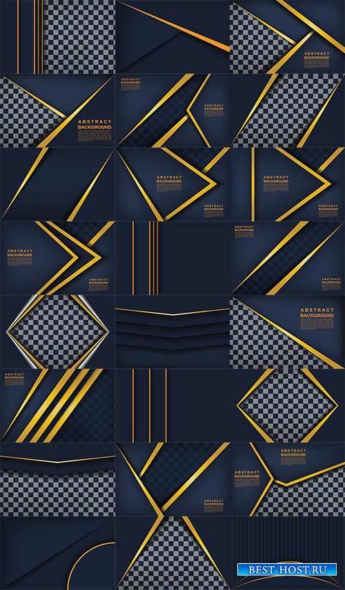 Абстрактные фоны в векторе / Abstract backgrounds in vector
