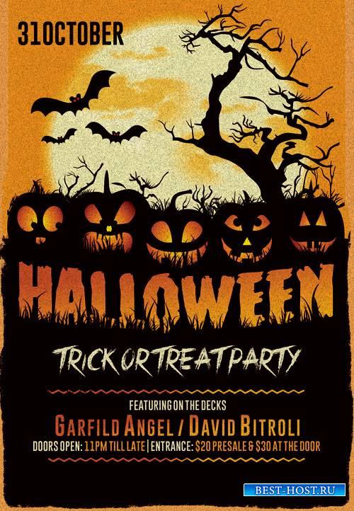 Halloween_night - Premium flyer psd template