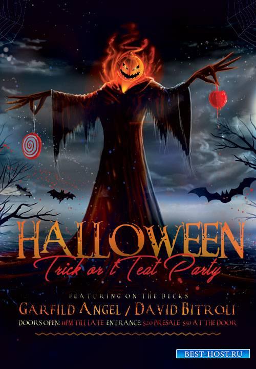 Halloween - Premium flyer psd template