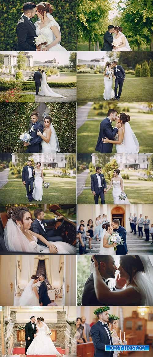 Свадебная фотосессия - Растровый клипарт / Wedding photo shoot - Raster clipart