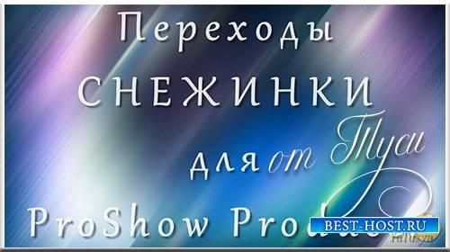 Снежинки - Переходы для ProShow Producer