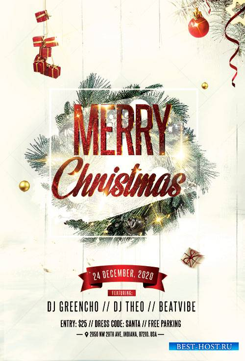 Christmas Celebration - Premium flyer psd template