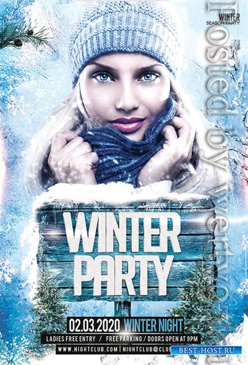 Winter - Premium flyer psd template