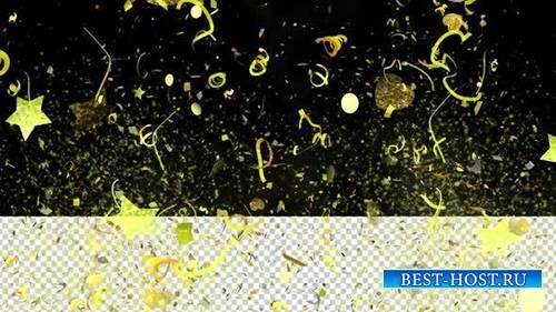 Videohive - Epic Gold Confetti 02 -  25086243
