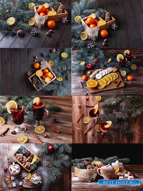 Новогодние картинки 2 - Растровый клипарт / Christmas pictures 2 - Raster G ...