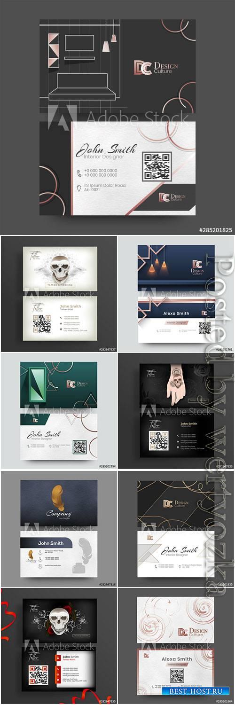 Interior Designer business cards, business cards for tatoo