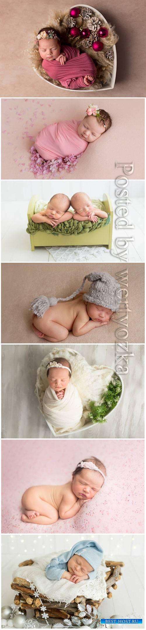 Photo shoot newborn child