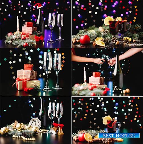Новогодние картинки 5 - Растровый клипарт / Christmas pictures 5 - Raster Graphics