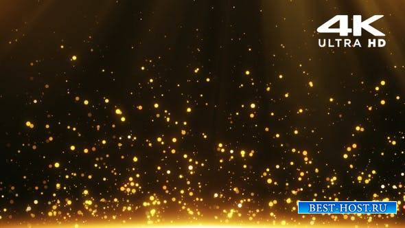 Videohive - Gold Particles - 24999555