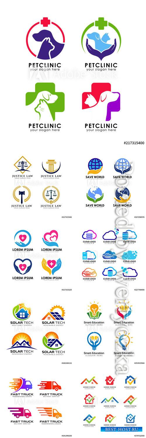 Company business logo in vector # 3