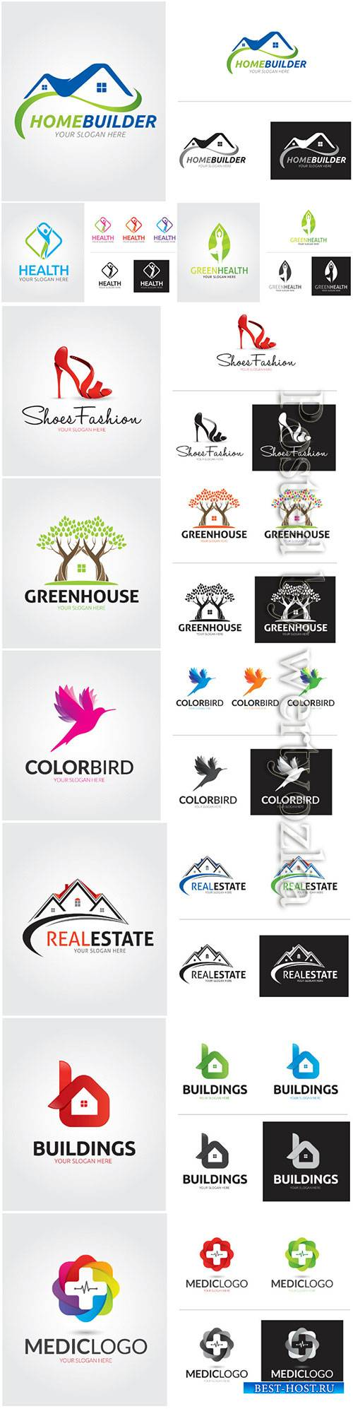 Company business logo in vector # 2