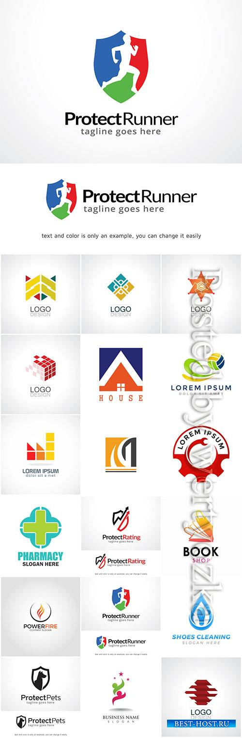 Company business logo in vector # 6
