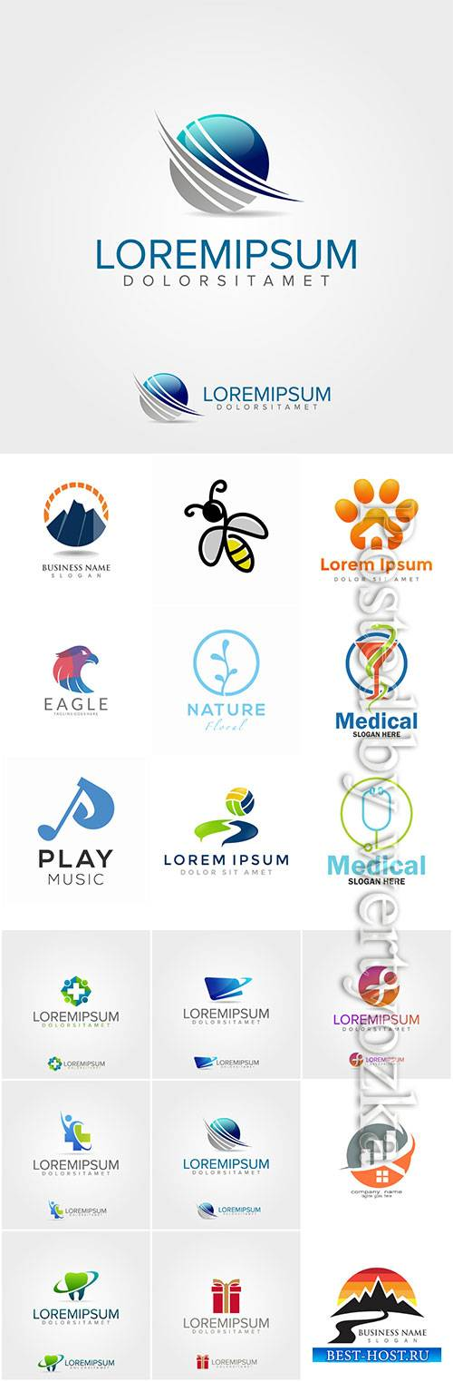 Company business logo in vector # 5
