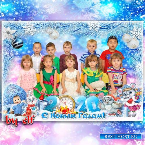 Рамка для детского сада или начальной школы - За окошком снег идёт, значит, ...