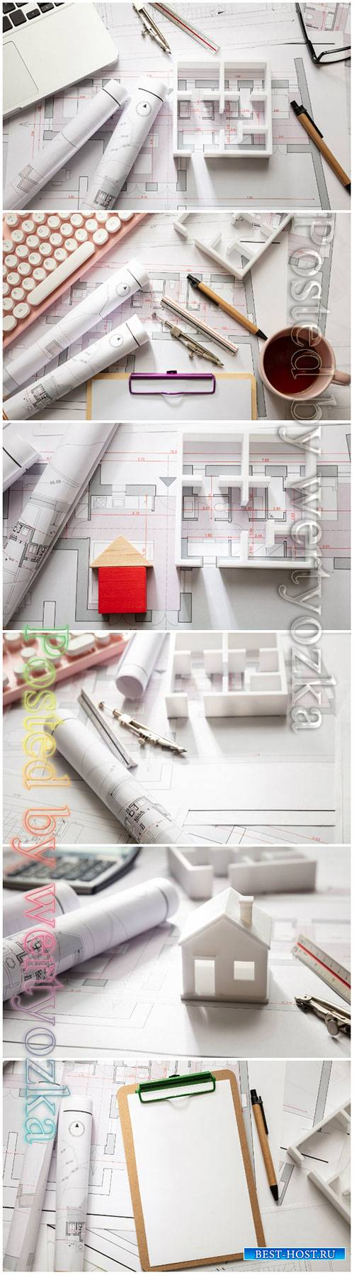 Construction concept beautiful stock photo
