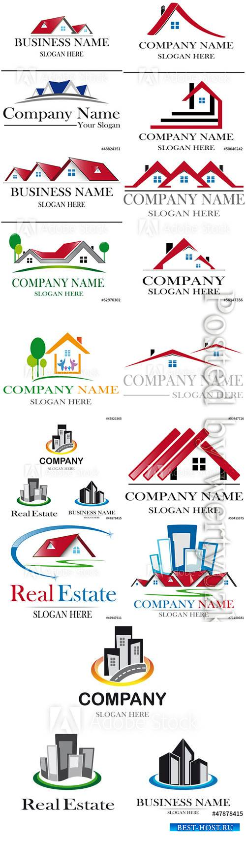 Project house vector logo design