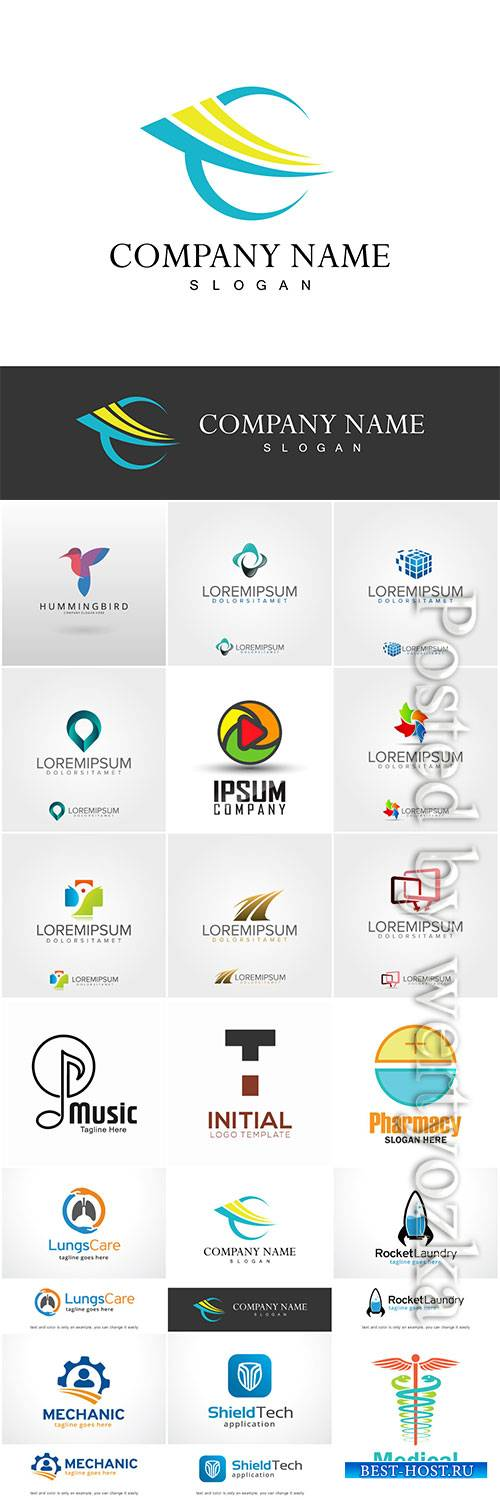 Logo collection vector illustration # 16