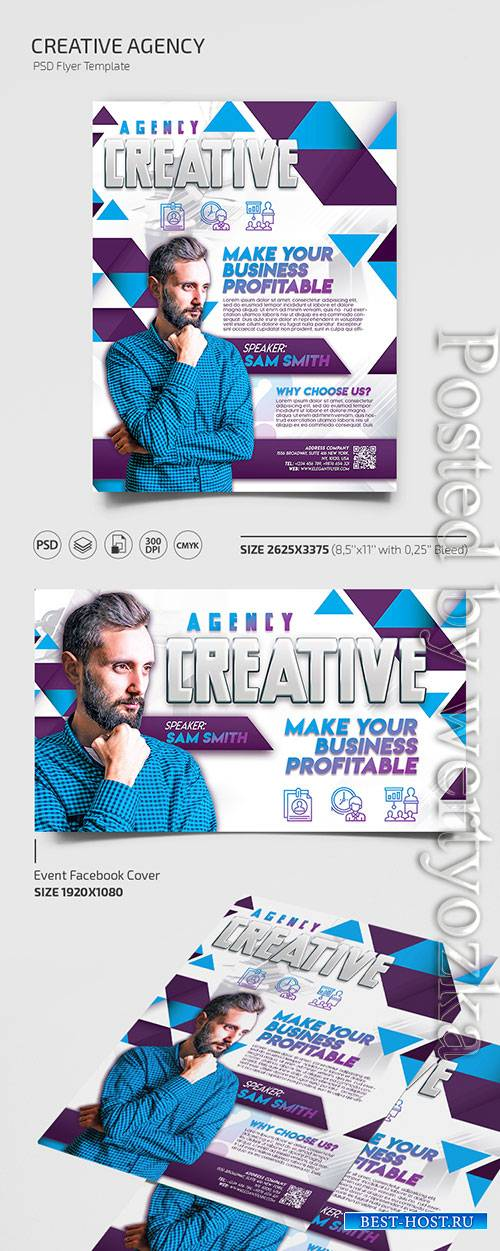 Creative Agency - Premium flyer psd template