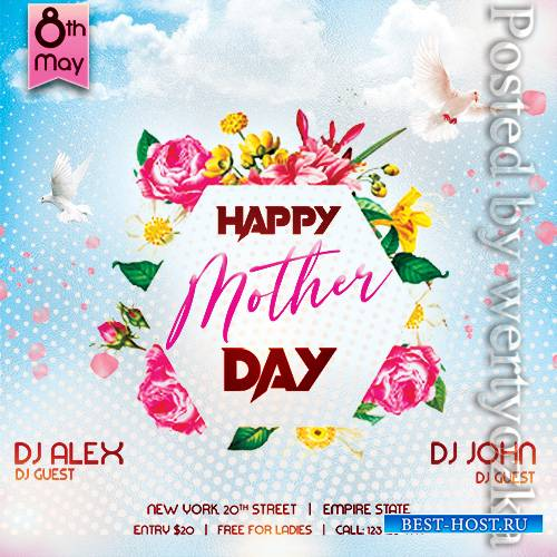Happy Mother Day - Premium flyer psd template