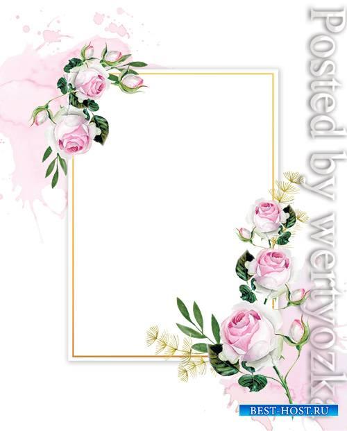 Roses Wedding - Premium flyer psd template
