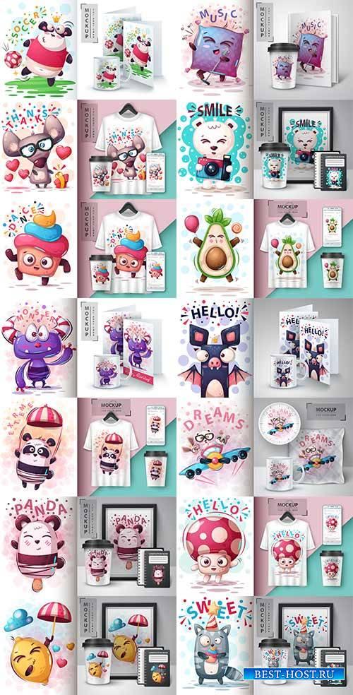 Идеи для творчества - 11 - Векторный клипарт / Ideas for creativity - 11 - Vector Graphics