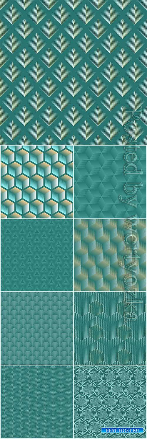 Seamless abstract geometric vector background
