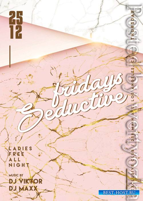 Seductive fridays - Premium flyer psd template