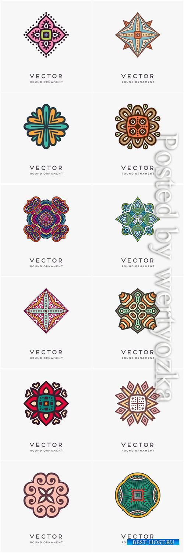 Decorative hand drawn mandala vector illustration # 7