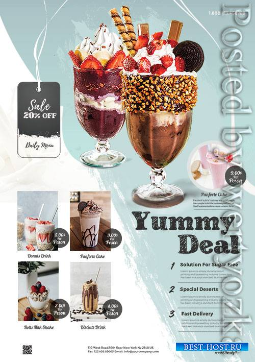 Product Sale  Promotion - Premium flyer psd template