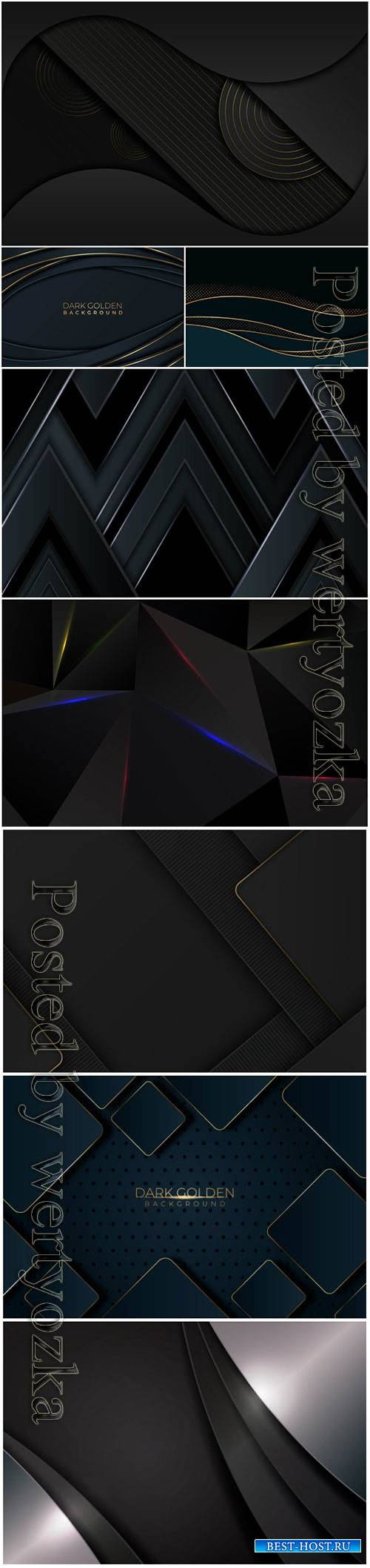 Luxury abstract backgrounds in vector # 9