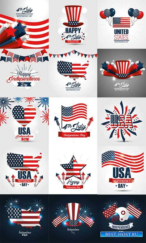 Happy independence day - Vector Graphics