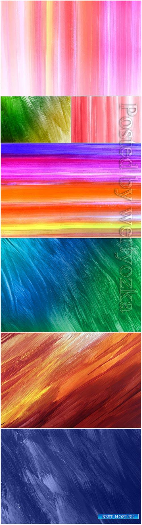 Abstract painted vector texture