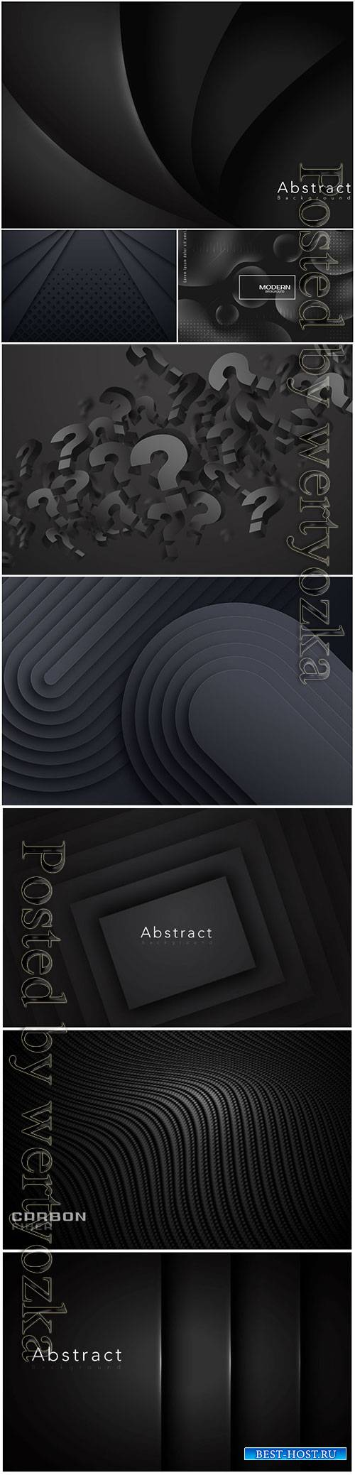 Dark vector abstract background