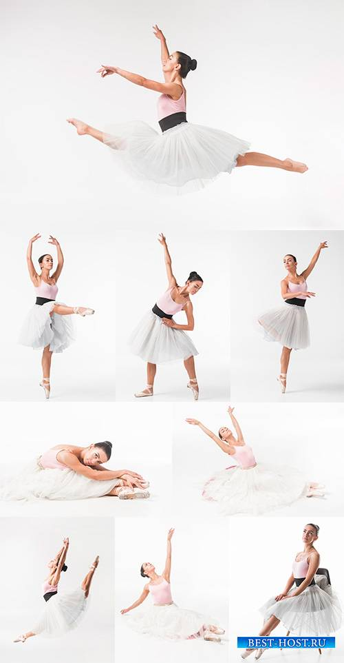 Балерина - растровый клипарт